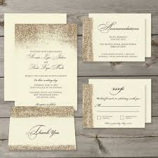 wedding invitations glitter glitter wedding invitation sets kac40 info