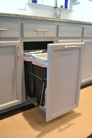 Kitchen Cabinet Trash Can Pull Trash Cans Kitchen Cabinets Bin Cabinet Garbage Waste