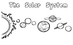 solar system model worksheet coloring page and coloring pages