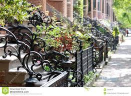 metal wrought iron gates stock photo image 58641057