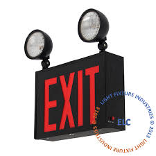 exit emergency light combo nyc exit signs emergency lights 8 exit light co