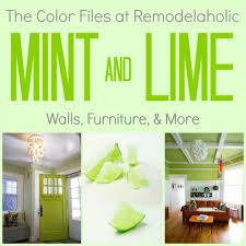 mint green color remodelaholic best paint colors for your home mint lime green