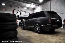 land rover matte pure luxury matte black range rover vogue by concavo u2014 carid com