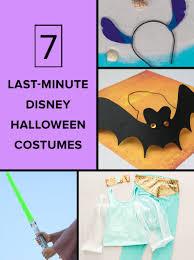 7 last minute disney halloween costumes disney family