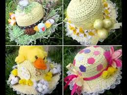 Youtube Easter Decorations by Easter Bonnet Craft Decorating Ideas Youtube