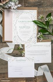 printable rustic wedding invitations lia griffith