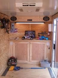 v nose enclosed trailer cabinets enclosed trailer cabinets v nose trailer cabinets pinterest