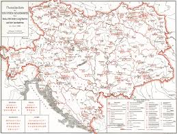 Map Of Austria And Italy by Austro Hungarian Army Records