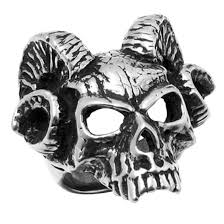 modern skeleton ring holder images Hell 39 s doorman demon skull ring ag r176 by medieval collectibles png