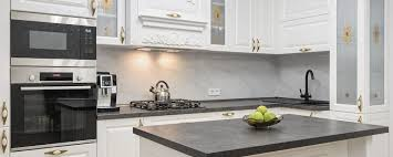 what color cabinets go best with black countertops 8 top kitchen countertop trends in 2020