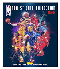 halloween sticker books amazon com 2015 2016 nba sticker collection 10 packs of 7 70