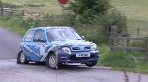 nissan micra rally car mcerlean wins junior rally battle at solway coast formula 1000
