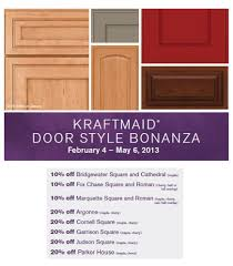 Styles Of Kitchen Cabinet Doors Kraftmaid Door Style Bonanza Kitchen Cabinets And Countertops