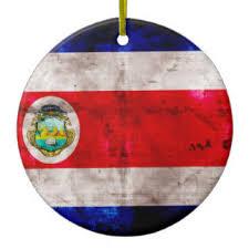 costa flag tree decorations ornaments zazzle co uk