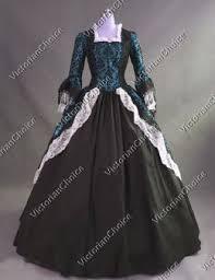 Marie Antoinette Halloween Costume Marie Antoinette Renaissance Dress Ball Gown Ghost Witch Halloween