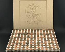 Copper Penny Tile Backsplash - backsplash tile etsy