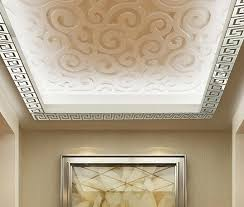 roof decorations free shipping house top mirror wall decoration 3d roof wall