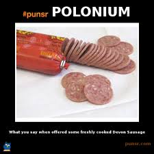Salami Meme - punsr polonium meme punsr com there is a joke in every word the