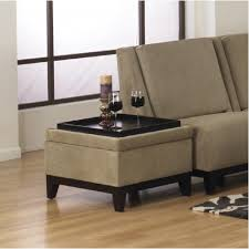 photo custom small double ottoman light brown ottoman table with