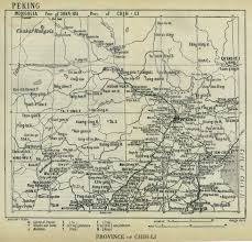 Beijing Map China Historical Maps Perry Castañeda Map Collection Ut