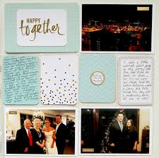 Project Life Wedding Album Testing Out White Borders Digital Journaling Thenerdnest
