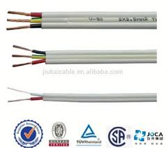 ce vde approved 20kv electric wire for house wiring flat tps cable