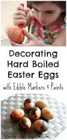 Hard Boiled Eggs For Easter Decorating Decorating Eggs With Edible Paints And Markers U2013 Danya Banya