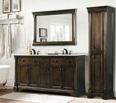 magnificent rustic double sink bathroom vanities with oil rubbed