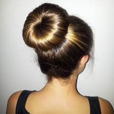 hairstyles with a hair donut easy classy donut bun hairstyles to create neat image hairstyles