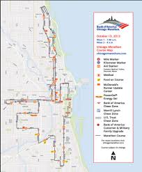 Chicago Magnificent Mile Map by Gary Jackson Fire When Ready Pottery