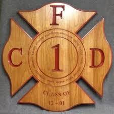 wooden maltese cross personalized firefighter gift maltese cross custom cross