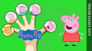 finger family song peppa pig george daddy pig mummy pig teddy