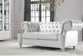 Chesterfield Sofa White Popular Of White Leather Chesterfield Sofa White Leather