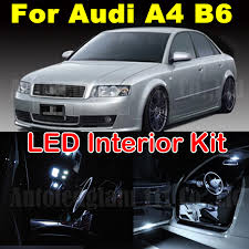 Audi A4 B6 Custom Interior Wljh 18x White Error Free Overhead Mirrors Interior Package For