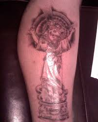 alexander badrow jesus on cross tattoo