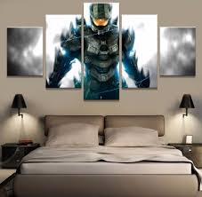Spartan Home Decor by Online Get Cheap Halo Wall Poster Aliexpress Com Alibaba Group