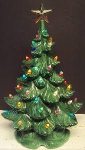 vintage ceramic christmas tree vintage ceramic christmas tree 18 atlantic mold w base lights