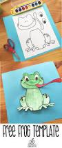 frog craft template for kindergarten 1st grade u0026 2nd grade