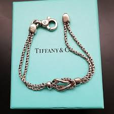 love knot bracelet images Tiffany co jewelry tiffany co double rope love knot bracelet jpg