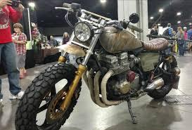 honda cb750 walking dead replica u2013 daryl u0027s 1991 honda cb750 nighthawk bike