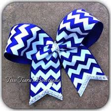 white and blue bows royal blue sparkle cheer bow on etsy 6 95 birthday christmas
