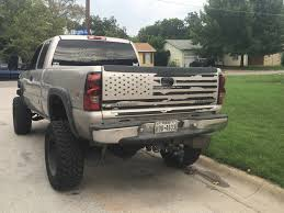 American Flag On Truck Distressed American Flag Tailgate Decal Toyota Tundra Gmc Chevy