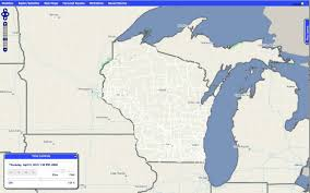 Chicago Wisconsin Map by Iteris Clearpath Weather