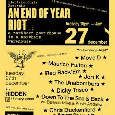 electric chair presents end of year riot 2016 tickets