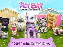 Games Decoration Home Pet Cat House Decoration Games U2013 My Home Simulator Apps 148apps