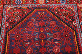 Red And Blue Persian Rug by Hossainabad Hamedan Persian Rug Runner