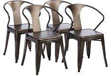 Industrial Metal Kitchen Chairs Industrial Metal Chair Ebay