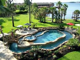Backyard Landscaping Ideas With Above Ground Pool Backyards With Pool U2013 Bullyfreeworld Com