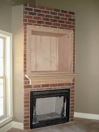 Mounting A Tv Over A Gas Fireplace by Tv Over Fireplace Please Show Me How You Designed Yours Thanks
