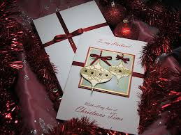 baubles luxury handmade card